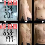 16時間断食ダイエット65日間の結果